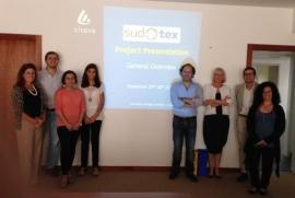 Partenaires du projet SUDOTEX kickoff meeting